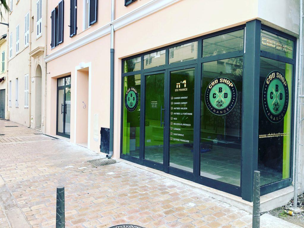 CBD Shop France - Cannes Mimont