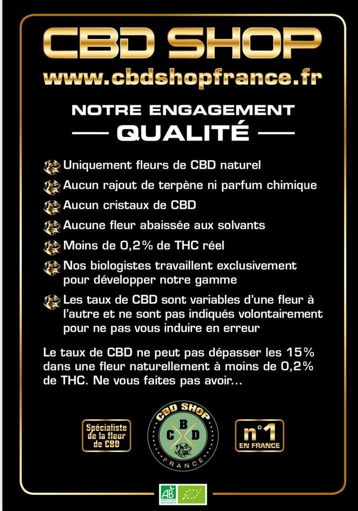 charte qualité cbd shop france