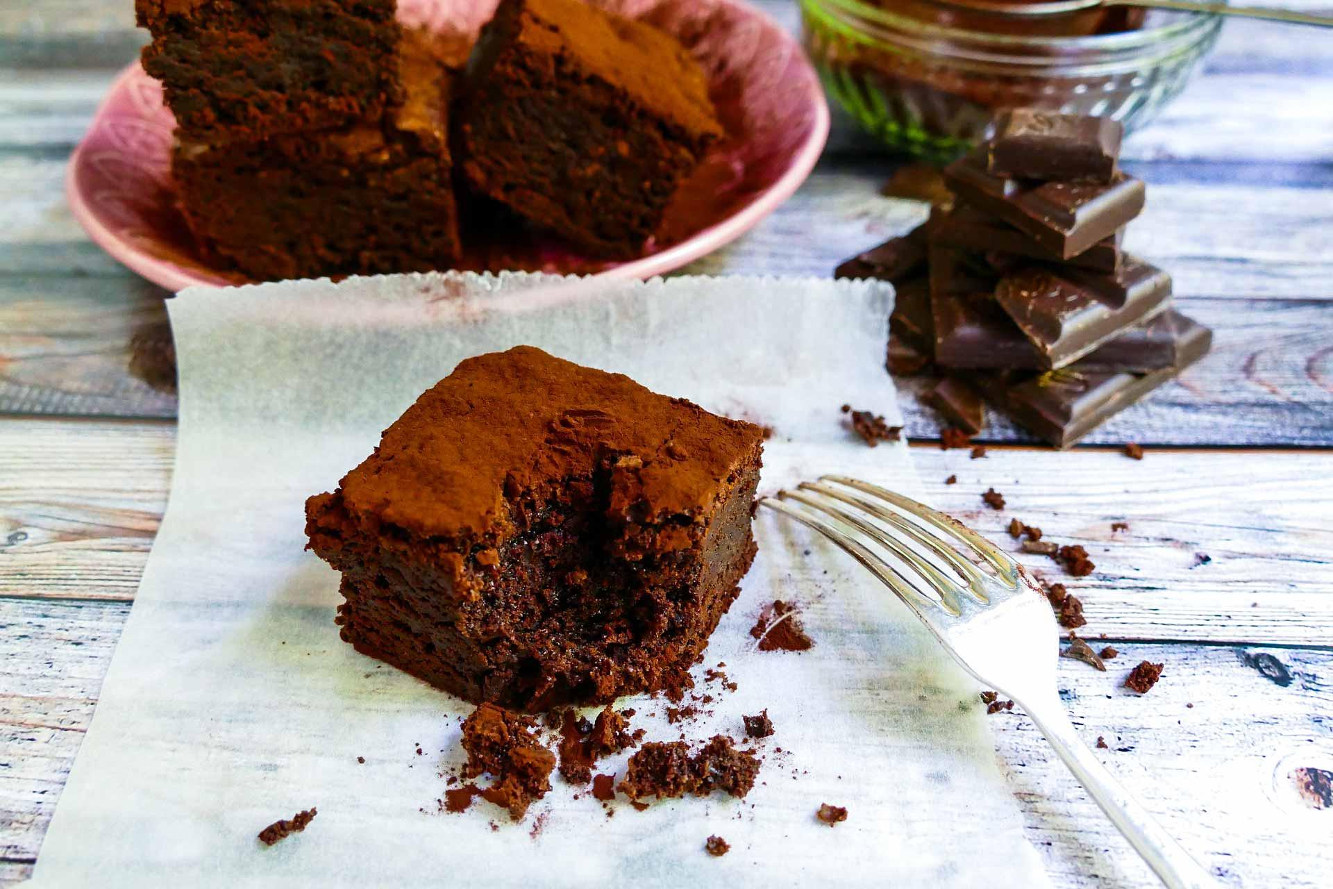 brownie gâteau avec cbd